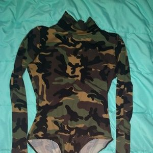 Other - Camo bodysuit